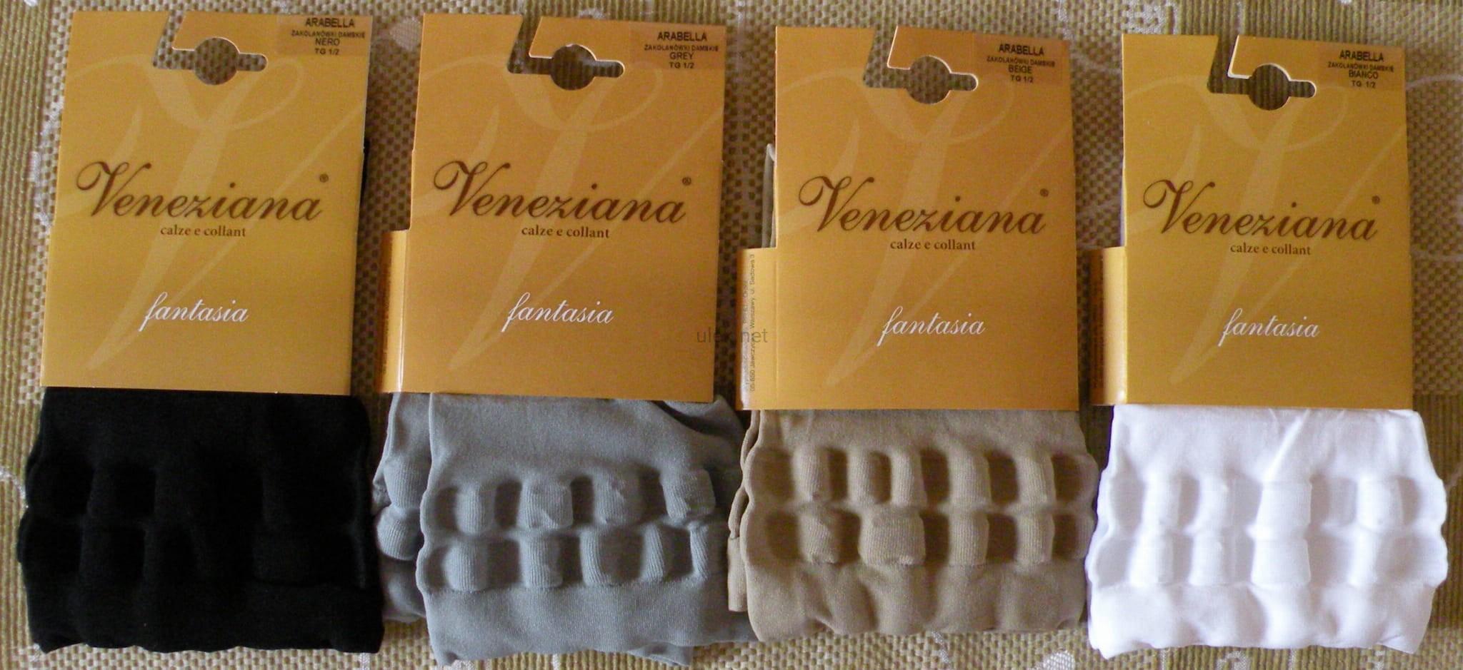 5922416a289080 pończochy bez stóp - zakolanówki Veneziana Arabella 50 den ulek store